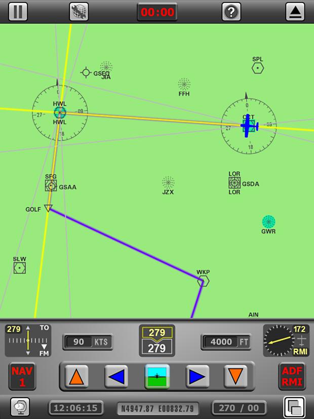 Radio Navigation Simulator - Quick Start